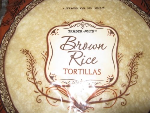 Trader Joe's Brown Rice Flour Tortillas