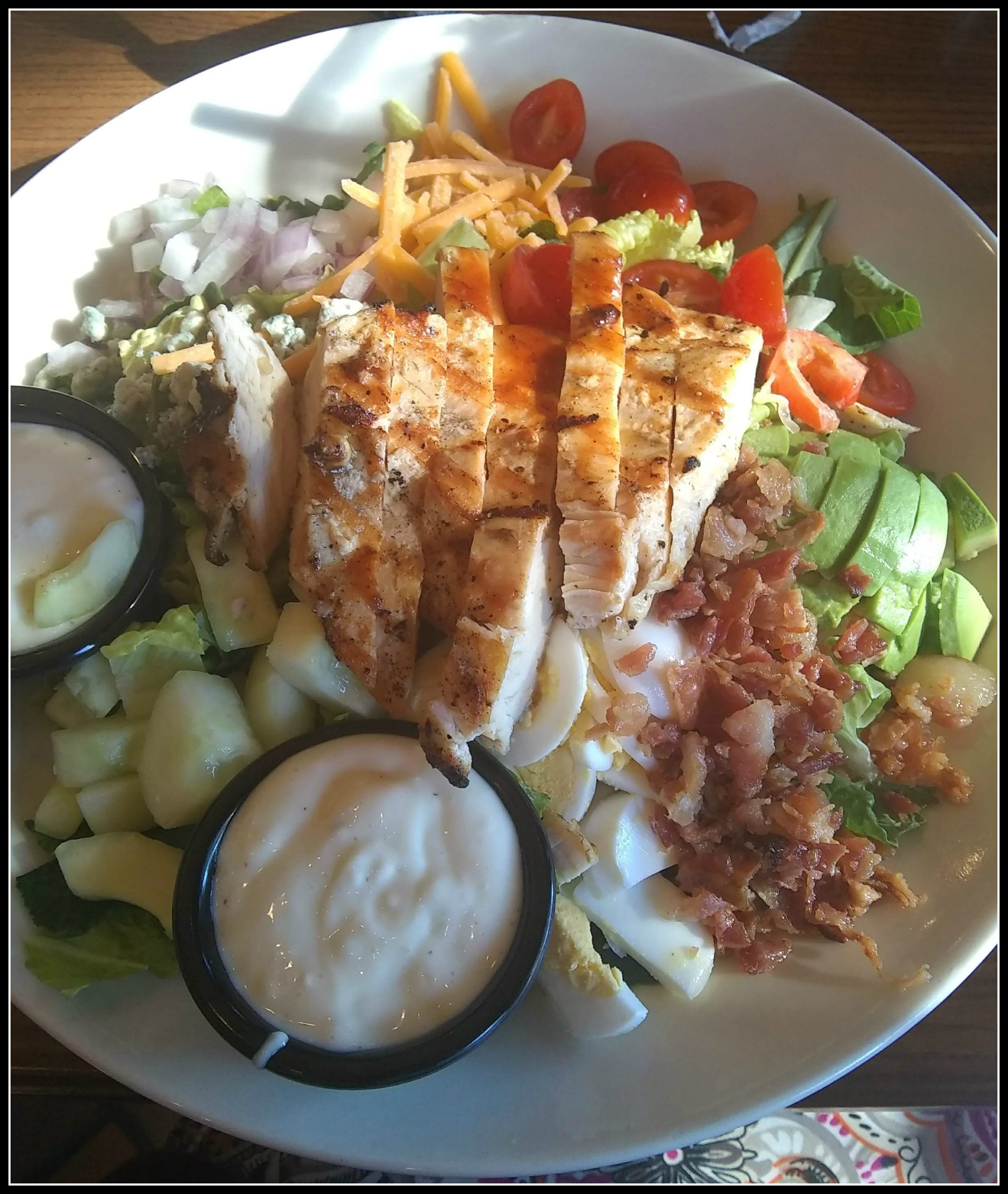 Cobb salad from TGIF