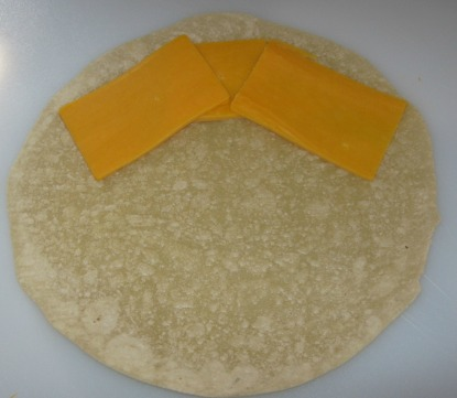 quesadillas recipe before folded
