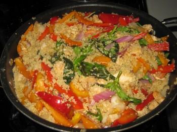 gluten free quinoa recipe